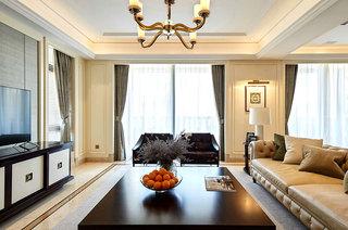 美式风格别墅装修客厅效果图