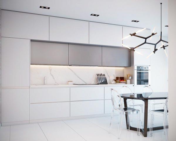 大理石装饰厨房装修装饰效果图