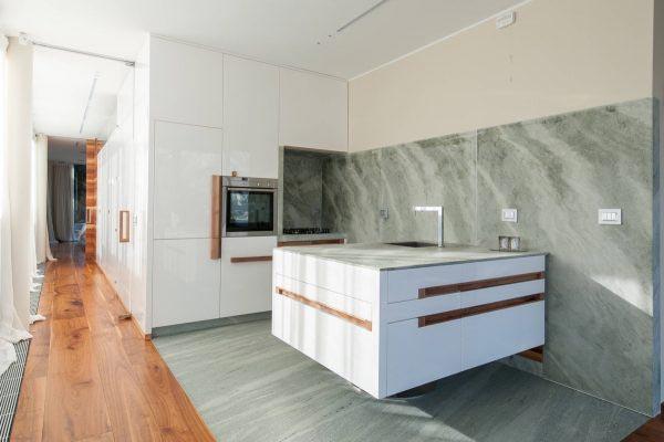 白色系厨房装修装饰图片