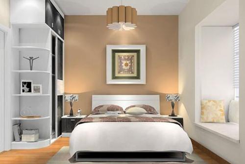 二十平米小户型装修效果图之卧室