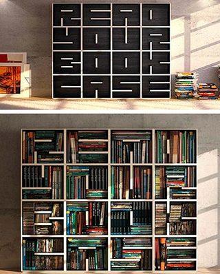 书架设计装修造型图片