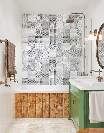 浴室背景墙装修效果图