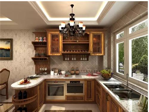 开放式厨房装修效果图 开放式厨房还能这么玩