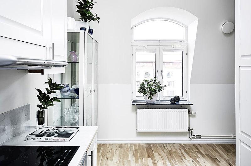 北欧风格两室两厅装修厨房装修设计