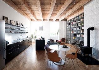 日式工业风开放式家居设计