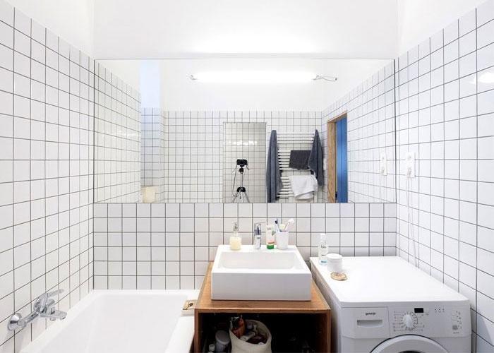 100平旧房改造装修卫浴装修效果图