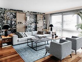现代风格复式阁楼装修 自然与优雅并存