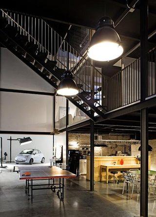 loft卧室装修装饰效果图