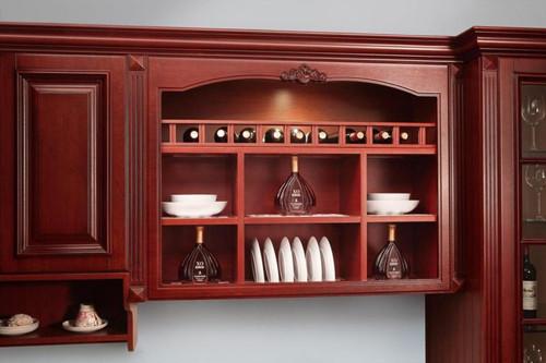 现代家装酒柜效果图 客厅酒柜设计只为品酒人士准备