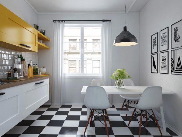 小户型厨房设计图