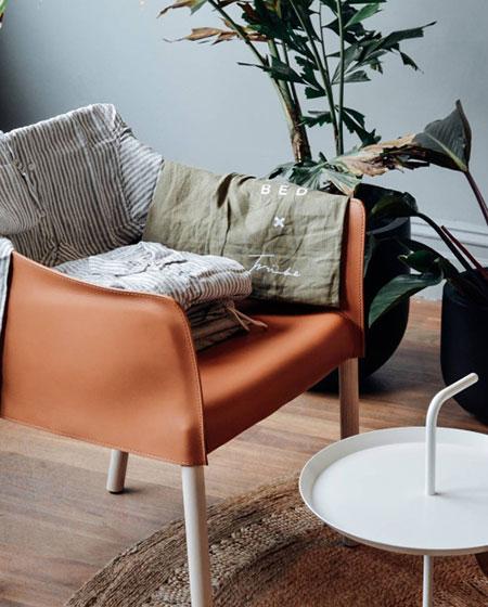 舒适客厅单人沙发图片