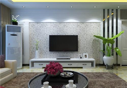 简约电视背景墙装修效果图大全 为您的新家添姿加彩