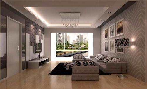 简约风格客厅装修效果图 让我们的幸福家居生活充满色彩