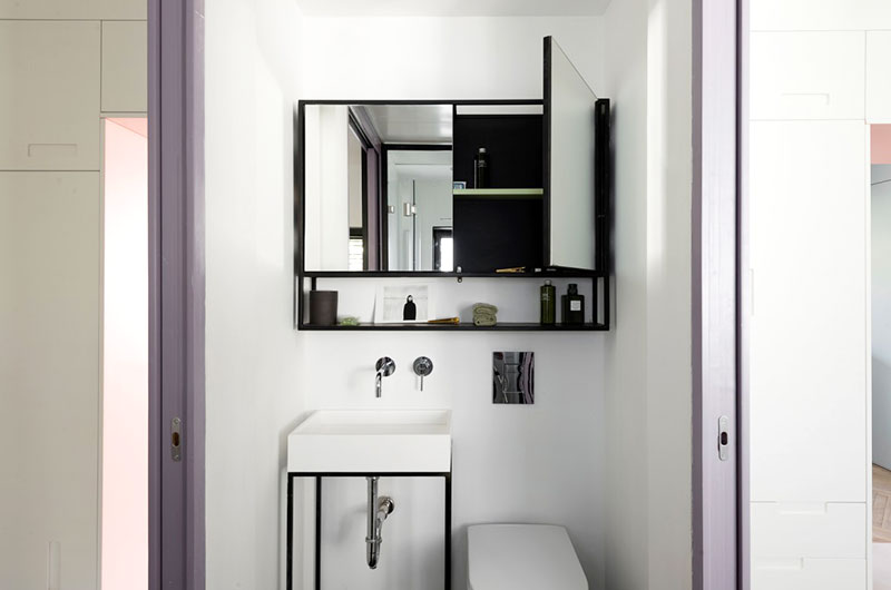 55平小两居室卫生间设计装修图