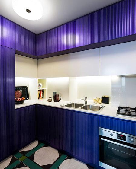 混搭风格旧房改造装修整体橱柜装修