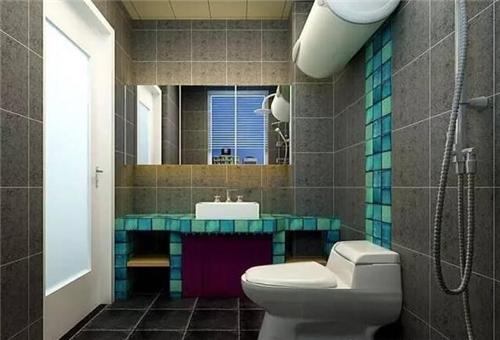 简约卫生间以简洁的形式搭配设计师新颖的创意,让精致与功能性并存,符