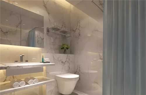 小型卫生间装修效果图 4平小浴室的创意改造