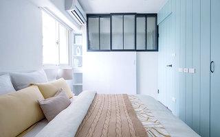 76平小三室装修卧室装修效果图