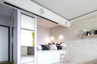 42平一居室装修卧室装修图片