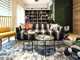 99平英式风格两居室装修图片 优雅由内而外