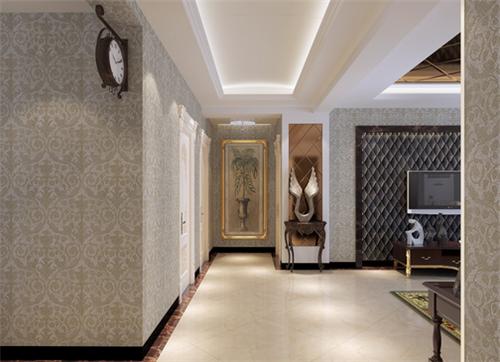 走廊吊顶效果图 小户型室内过道吊顶设计图片