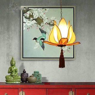 中式吊灯设计装修图片