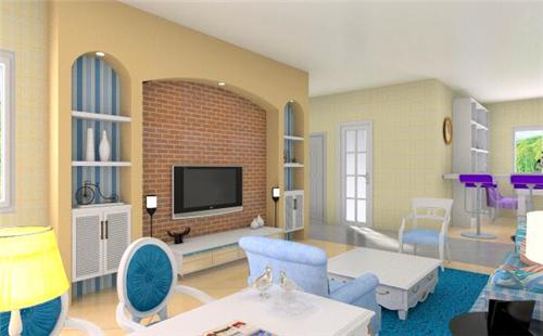 欧式客厅装修效果图 高端大气的欧式客厅设计