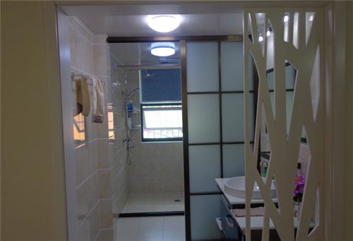 洗手间隔断效果图 2016年美观实用的卫生间隔断