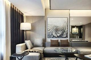 118平一室一厅装修客厅装修设计