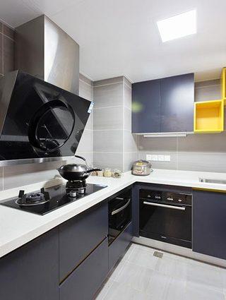 简约厨房设计布置摆放图