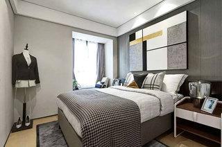 简约风格公寓装修主卧室设计