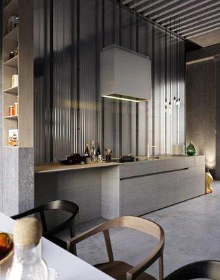 简易厨房设计平面图
