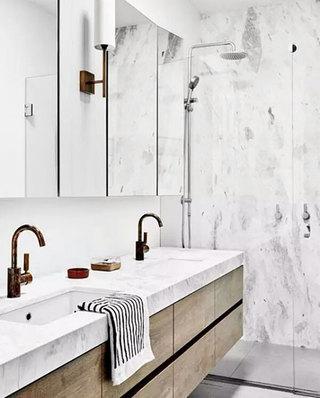 卫生间大理石洗手台效果图