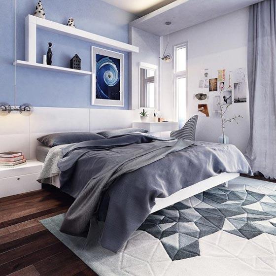 现代风格卧室装修图片大全