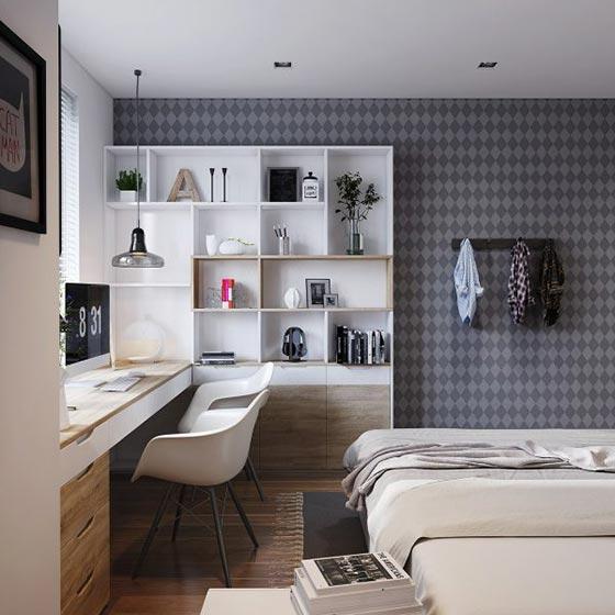 简约卧室设计构造图片