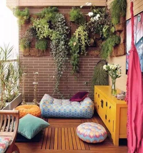 休闲阳台装修效果图大全 意想不到的家庭阳台设计