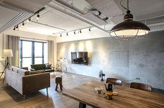 115平混搭风格两居室装修效果图