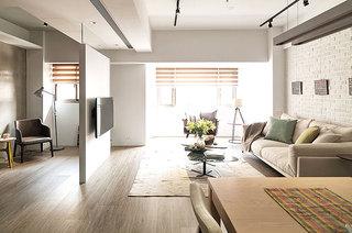 70平北欧风格小二居装修效果图