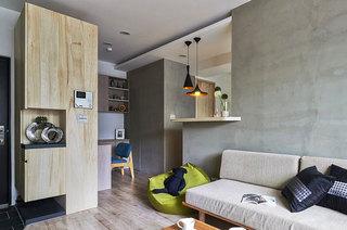 60平老公房装修沙发背景墙装修