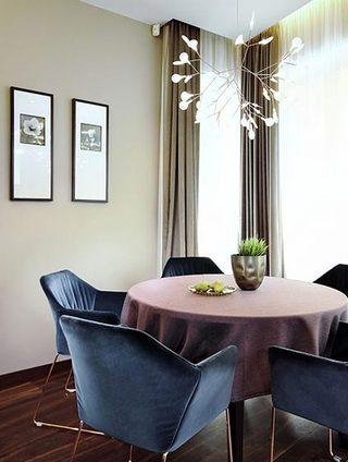 现代风格餐厅设计平面图