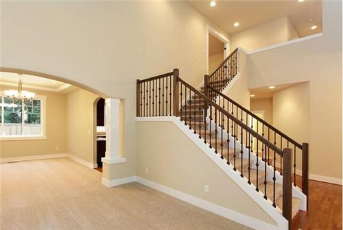 楼梯装修效果图 如家如风景