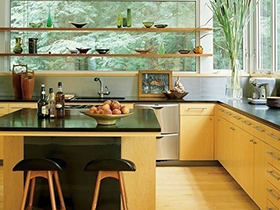 10个厨房吧台装修效果图 提升家居格调