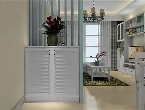 小玄关装修效果图 超有面子的小户型玄关设计