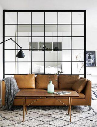沙发艺术玻璃背景墙图片大全