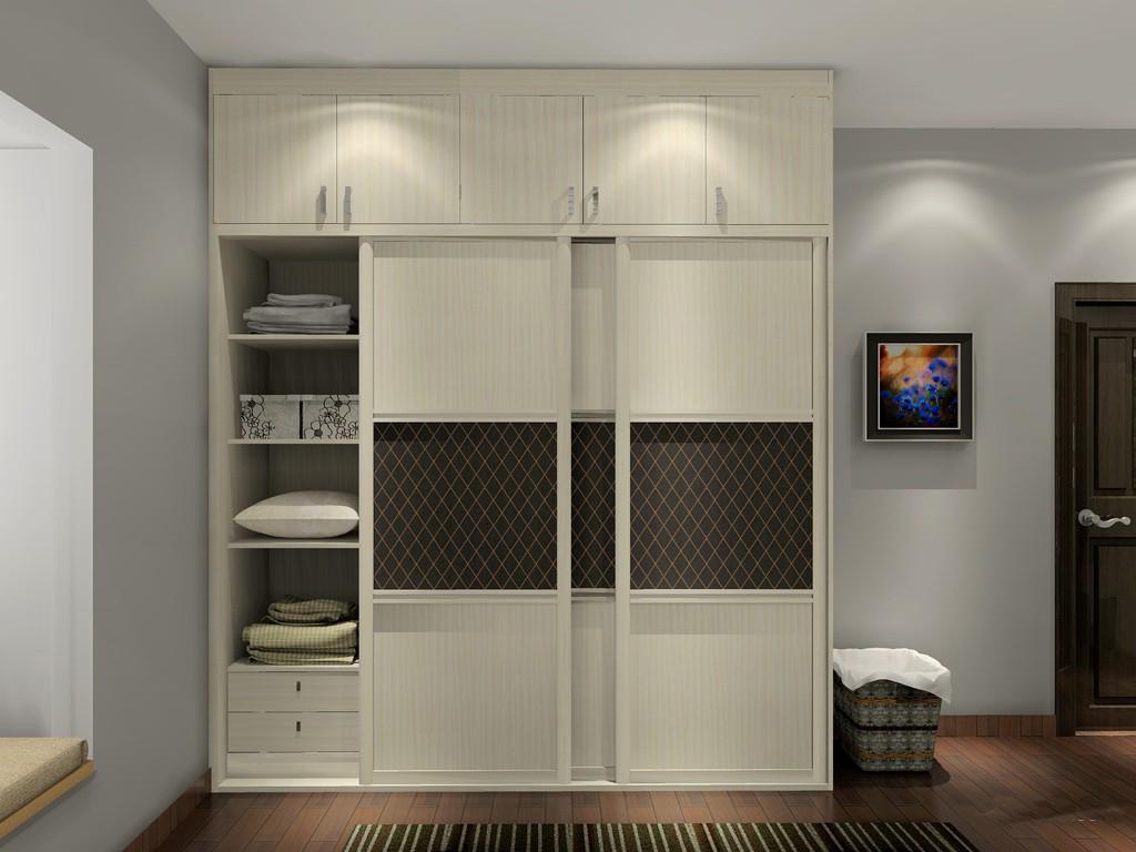 卧室衣柜设计 卧室衣柜内部设计图赏析图片