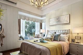 125平样板房装修卧室效果图装修