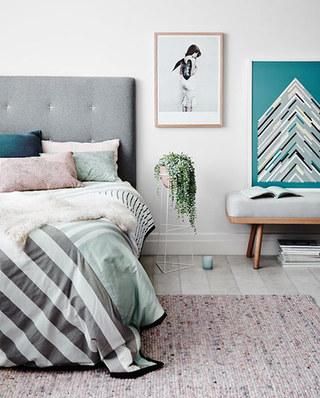 11个卧室地毯效果图 舒适温暖从地面开始4/12