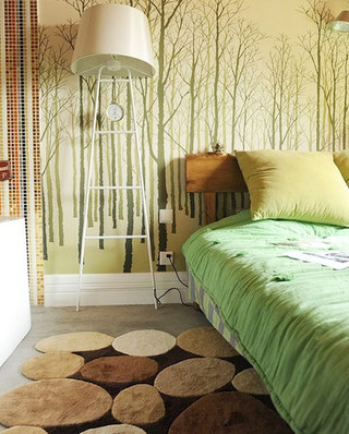 11个卧室地毯效果图 舒适温暖从地面开始5/12