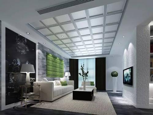 吊顶造型效果图 客厅吊顶装饰胜过ktv图片