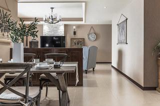 152平美式风格装修餐厅装修图